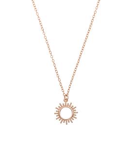SOLE|Halskette Rosé