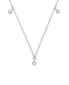 TOPAZ  Halskette Silber