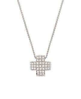 DIAMOND Halskette  18K Weißgold