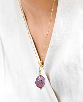 GENEVIEVE NECKLACE GOLD