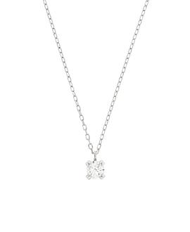 DIAMOND Halskette  14K Weißgold