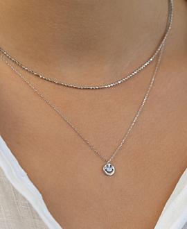 ESSENTIAL  Halskette Silber