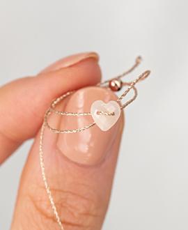 HEART Armband Peach