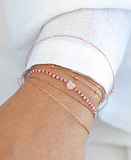 ROSE QUARTZ LOVE  Armband Pink