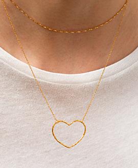 TI AMO  Halskette Gold