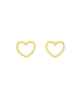 LOVED  EAR STUDS GOLD