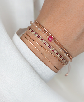 JADE  Armband Rosa