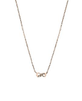 INFINITY Halskette Roségold