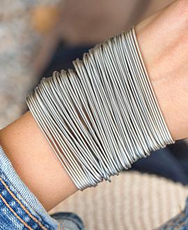 Armband Set  Silber