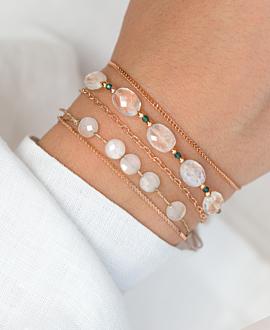 LIBERTY  Armband Weiß