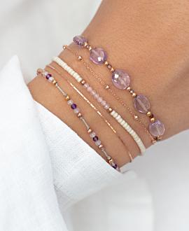 LIBERTY  Armband Violett