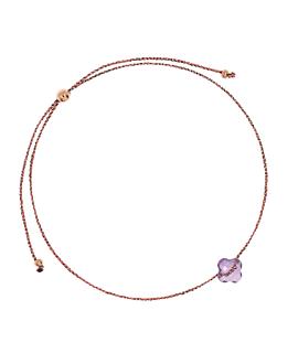 LUCKY CLOVER Armband Violett