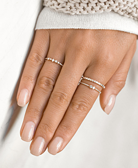 MEMOIRE RING  14K ROSE GOLD