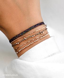 MICA Armband Silber