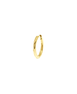 Mini Creole Single|14K Gold