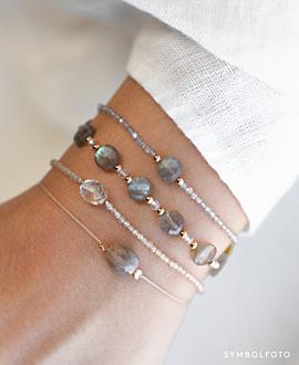 MOONSTONE GLITZ  Armband Grau