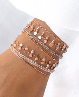 GYPSY MOONSTONE  Armband Rosé
