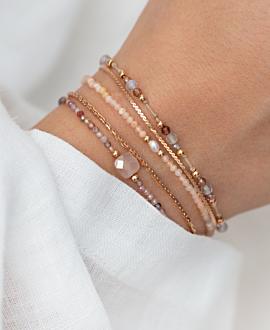 MOONSTONE GLITZ  Armband Rosa