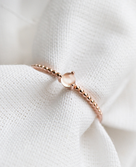 MOONSTONE  Ring Rosé