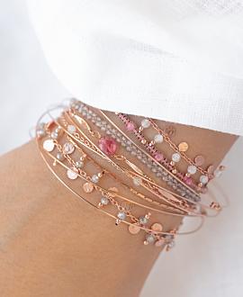 MYSTIC  Armband Rosé