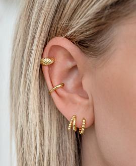 EVE Ear Cuff  Single Gold