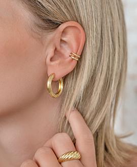 Ear Cuff  Single Gold