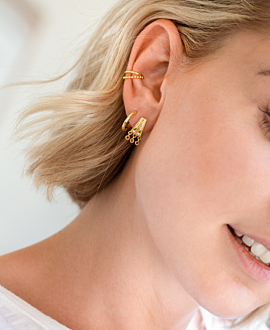 VERVE EARRINGS GOLD