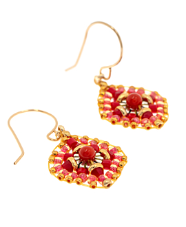 RED ADDICTION EARRINGS