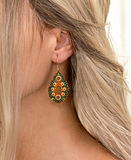 TROPICAL MOSAIC EARRINGS