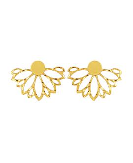 FLORAL Ohrringe Gold