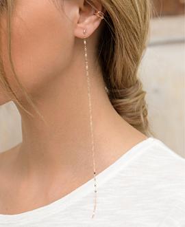 DIAMOND EARRINGS  10K ROSE GOLD