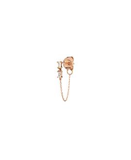 TOPAZ Ear Jacket|Single 14K ROSÉGOLD