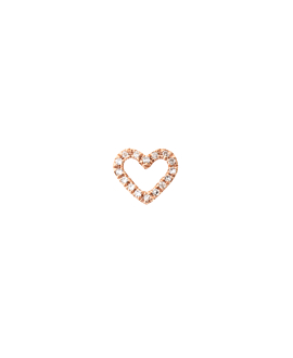 DIAMOND Ohrstecker|Single 14K Roségold