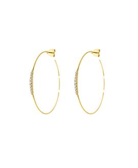 DIAMOND Creolen|14K Gold