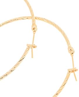 CECILIA Creolen  Gold 50MM