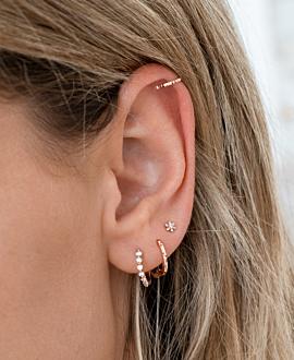 EAR CUFF Single  14K Roségold