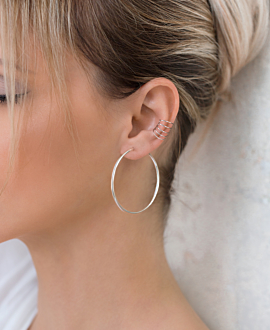 Ear Cuff Single Silber