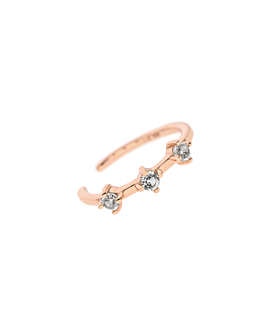 TOPAZ Ear Cuff|Single Rosé