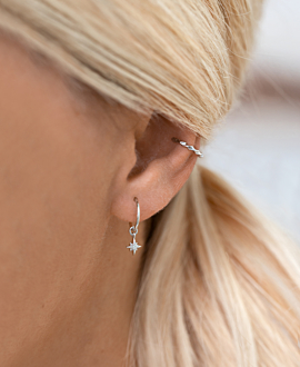 Ear Cuff  Single Silber
