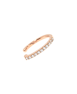 Ear Cuff Single|14K Roségold