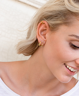 Ear Cuff  Single Gold