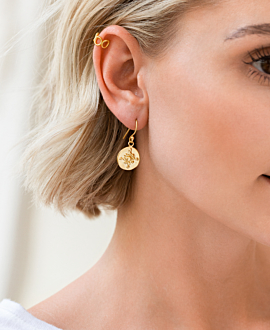 ORION  EARRINGS VERMEIL