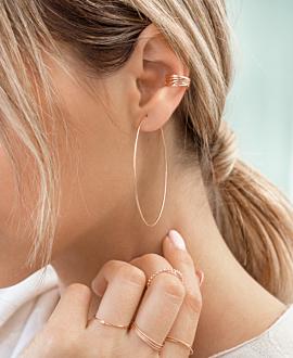 Ear Cuff Single Rosé