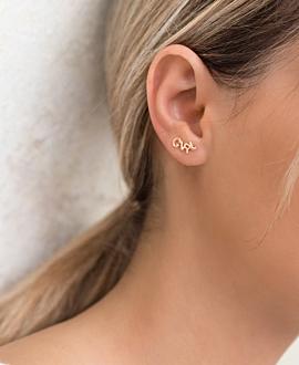 GIRL POWER Ear Cuffs Rosé