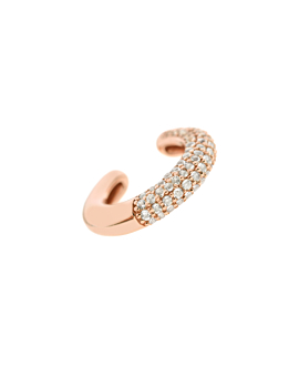 BE BOLD Ear Cuff Single Rosé