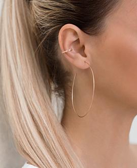 STARS Ear Cuff Single Rosé