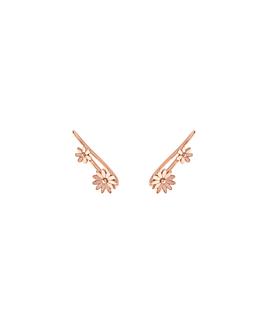 FLOWER DUET|Ear Climber Rosé