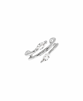 MARQUISE Ear Cuff|Single Silber