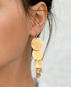 SOLÈNE EARRINGS GOLD