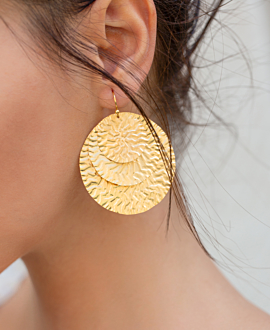 CAMILLE EARRINGS GOLD